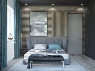 Moderne Schlafzimmer von Pavel Alekseev Modern