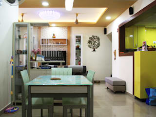 Asian style dining room by Ashpra Interiors Asian