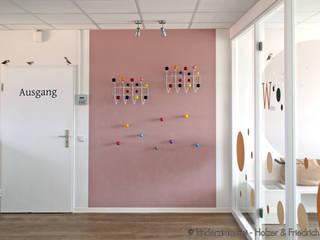 Kinderarztpraxis, Hannover Holzer & Friedrich GbR Moderner Flur, Diele & Treppenhaus