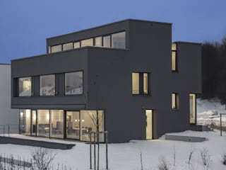 Gartenansicht / Terrasse:  Häuser von gerken.architekten+ingenieure