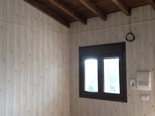 MODULAR HOME Salon rustique