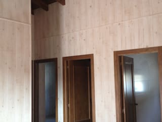 MODULAR HOME Rustic style bedroom