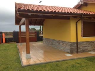 Casa modular de una planta Asturias Casas de estilo rústico de MODULAR HOME Rústico