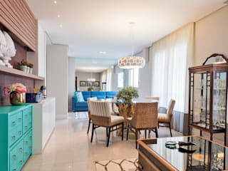 Apartamento descolado por Branca Vieira Arquitetura e Design Moderno