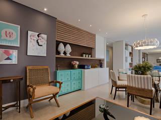 Living room by Branca Vieira Arquitetura e Design, Modern
