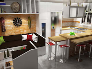 Modern Dining Room by Rbritointeriorismo Modern