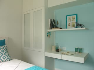 Dormitório de casal Quartos minimalistas por Lima Orsolini Arquitetura e Interiores Minimalista