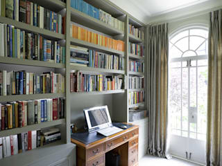 Chelsea Townhouse Classic style study/office by Arq-A Interiors Limited Classic