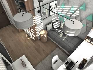Dormitorios infantiles de estilo escandinavo de Designbox Marta Bednarska-Małek Escandinavo