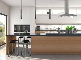 Klik Cocinas ห้องครัวตู้เก็บของและชั้นวางของ Wood effect