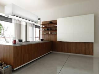 Klik Cocinas ห้องครัวที่เก็บของ Wood effect