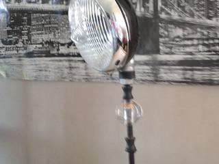 lampe de bureau par amour de palette création Industriel Fer / Acier