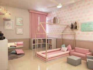 Recamara de niña Dormitorios infantiles modernos de Interiorisarte Moderno