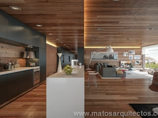 Casas de estilo  por Matos Architects,