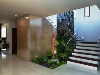 Pasillos y vestíbulos de estilo  de Interiorisarte , Moderno