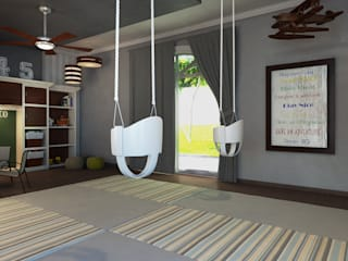 Nursery/kid's room by Interiorisarte