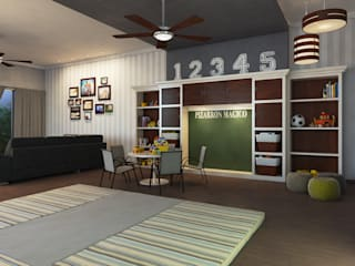 Nursery/kid's room by Interiorisarte , Modern