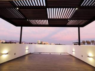 ROOF GARDEN CAÑADA: Terrazas de estilo  por acosta arquitecto