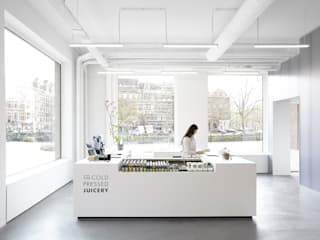 The Cold Pressed Juicery Minimalistische bars & clubs van Proest Interior Minimalistisch