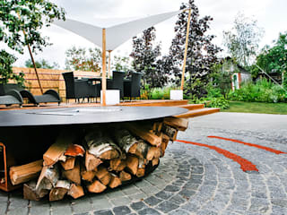 Барбекю BonFire Woodgrill. от Fineline.ru