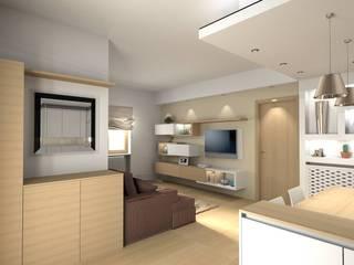 Cocinas de estilo moderno de Cristiano Rossi Interior Designer Moderno