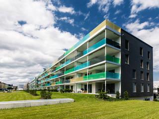 VERDICHTUNG:  Häuser von Hunkeler Partner Architekten AG