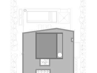 PLANTA DE TECHOS: Casas de estilo minimalista por VISMARACORSI ARQUITECTOS