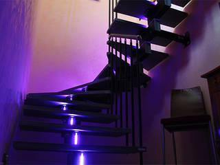 Bianchetti Pasillos, vestíbulos y escaleras modernos