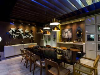 餐廳 by Fonseca & Burity Arquitetura, 隨意取材風