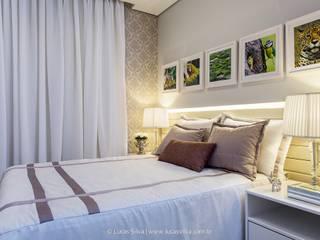 臥室 by Fonseca & Burity Arquitetura, 現代風