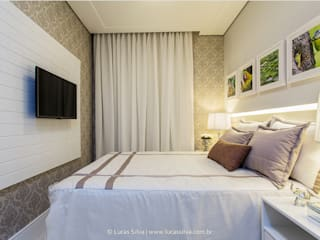 Bedroom by Fonseca & Burity Arquitetura