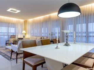 Living room by Fonseca & Burity Arquitetura