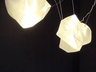 Lichtinstallation nach Mass/ Messe / Raum und Loungestaltung von freigeist-design Minimalistisch