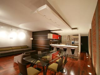 Comedores de estilo moderno de RIMA Arquitectura Moderno