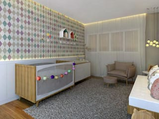 Konverto Interiores + Arquitetura Nursery/kid's room