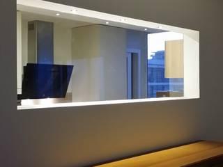 """""""de Cristal y de Mar"""": Cocinas de estilo  de IC & AIR ·Arquitectura ·Interiorismo ·Reformas"""