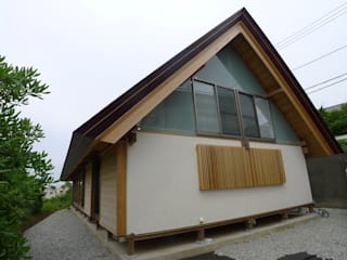 Eclectic style houses by 建築設計事務所 山田屋 Eclectic