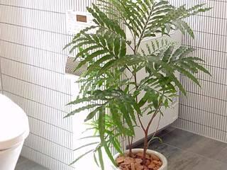 (有)ハートランド Baños de estilo moderno Verde