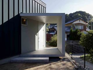 長井建築設計室 Minimalist house Green