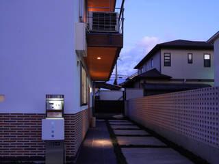 外観 ③: 上原一朗建築造形研究所が手掛けた家です。