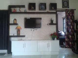 Wallpapers at 8Streaks Hyderabad: modern  by Eight Streaks Interiors,Modern