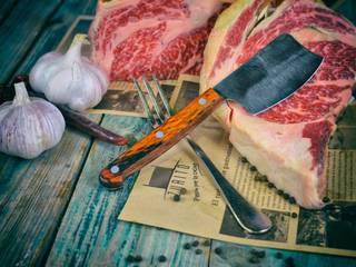 El nuevo cuchillo para carne diseño exclusivo de Klimer:  de estilo  de Klimer