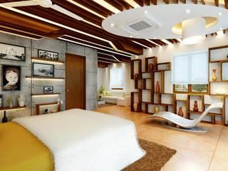Mr. Ramesh Residence at Neyveli:  Bedroom by Dwellion