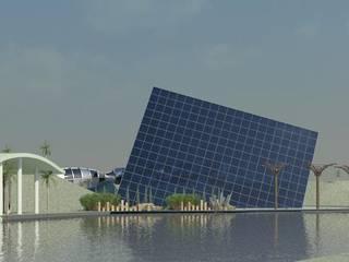Studio la Piramide Architettura e Urbanistica Minimalistischer Garten