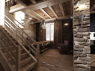 Студия дизайна Натали Хованской Country style living room