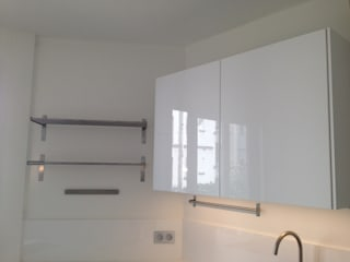 Renovation deux pièces meublé paris 16 par cbm interiors sas Moderne