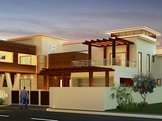Mr. Ehiya Residence at Tanjore:  Houses by Dwellion