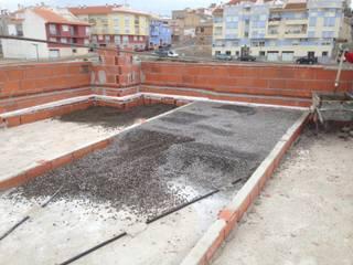 FRAMASA CONSTRUCTORA DEL NOROESTE SLU Modern terrace