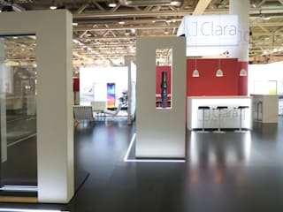 Messestand:  Messe Design von idressort InteriorDesign& Messe,Modern Holzwerkstoff Transparent
