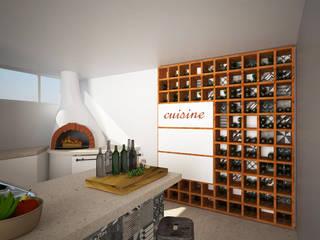 Interior Galceti: Cantina in stile  di B+P architetti